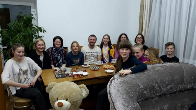 16 января прошла рабочая встреча волонтеров СБУ «Реформация личности»